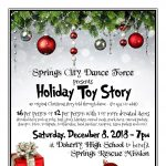 The Holiday Toy Story presented by Springs City Dance Force at Doherty High School Auditorium, Colorado Springs CO