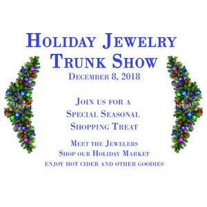 Holiday Jewelry Trunk Show