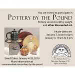 Call for Artists: 'Pottery by the Pound'