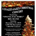 A Snazzy-Jazzy Christmas Concert featuring 'Swing Factory' Big Band