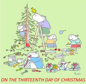 'On The Thirteenth Day of Christmas'