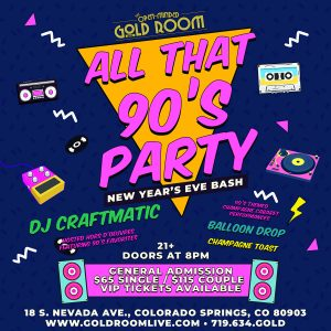All That 90's New Year's Eve Party