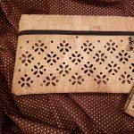 Uncorked Fabric Zipper Bag