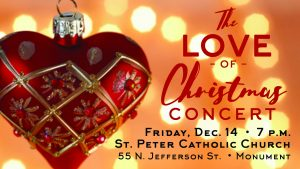 The Love of Christmas Concert