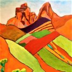 A34 Southwest Landscape presented by  at Bemis School of Art at the Colorado Springs Fine Arts Center at Colorado College, Colorado Springs CO
