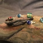 A60 Earth Expressions Wire-Wrapped Rings presented by  at Bemis School of Art at the Colorado Springs Fine Arts Center at Colorado College, Colorado Springs CO