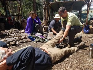 Wilderness First Responder (WFR) presented by Colorado Mountain Man Survival at ,