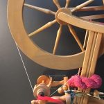 Beginning Wheel Spinning presented by Textiles West at TWIL at the Manitou Art Center, Manitou Springs CO