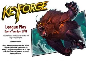 Keyforge League presented by Petrie's Family Games at Petrie's Family Games, Colorado Springs Colorado
