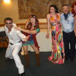 """""""Murder at the Disco"""" Interactive Murder Mystery Dinner and Show presented by Red Herring Productions at Briarhurst Manor, Manitou Springs CO"""
