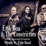 Erik Boa & The Constrictors with The Wendy St Cyre Band