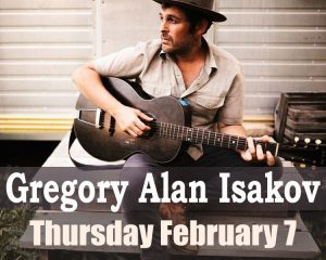 SOLD OUT: Gregory Alan Isakov with Laura Gibson presented by Stargazers Theatre & Event Center at Stargazers Theatre & Event Center, Colorado Springs CO