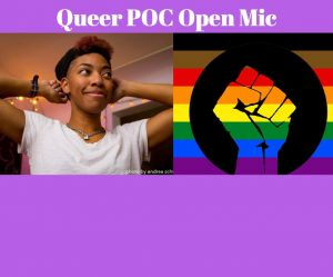Poetry 719: Queer People of Color Open Mic