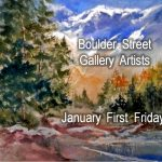 Laurel Bahe, Joan Judge, & Meagan Anderson presented by Boulder Street Gallery and Framing at Boulder Street Gallery, Colorado Springs CO