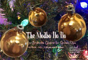 The Modbo Ho Ho: A Christmas Cabaret for Grown Ups presented by Modbo at The Modbo, Colorado Springs CO