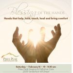 Pikes Peak Hospice & Palliative Care – Blessings of the Hands Ceremony presented by Pikes Peak Hospice & Palliative Care at ,