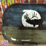 Elk Moon with Pine Tree Painting Class presented by Brush Crazy at Brush Crazy, Colorado Springs CO