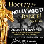 Hooray for Hollywood Dance! presented by Pikes Peak USA Dance Chapter #5020 at Immanuel Lutheran Church, Colorado Springs CO