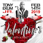 """Valentine's With a Twist: """" Turntables and Tony"""" presented by  at ,"""