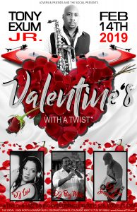 """Valentine's With a Twist: """" Turntables and Tony"""""""