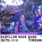 Rock Show Below: Babyllon presented by Peak Radar Live: 20th Annual Chinese New Year Celebration at The Gallery Below, Colorado Springs CO
