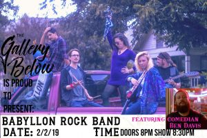 Rock Show Below: Babyllon