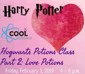 Hogwarts Potions Class: Love Potions presented by PPLD: Manitou Springs Library at ,