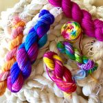 Hand Painted Yarn and Roving: Indie Dyer Techniques presented by Textiles West at TWIL at the Manitou Art Center, Manitou Springs CO