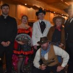 Valentine's Train Ride and Interactive Murder Mystery presented by Red Herring Productions at Royal Gorge Route Railroad, Canon City CO