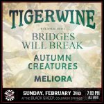 Tigerwine presented by The Black Sheep at The Black Sheep, Colorado Springs CO