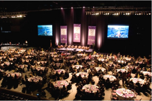 Colorado Springs Sports Hall of Fame Inductions presented by Colorado Springs Sports Corporation at The Broadmoor World Arena, Colorado Springs CO