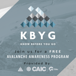 Avalanche! CAIC's Know Before You Go Workshop