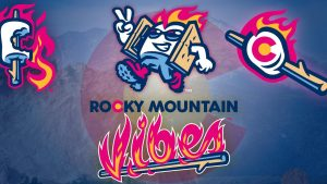 Rocky Mountain Vibes V. Ogden Raptors presented by Rocky Mountain Vibes Baseball at UCHealth Park, Colorado Springs CO