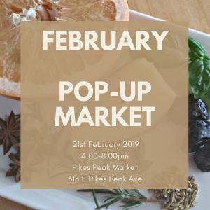 Pikes Peak Market: February Pop-Up Market