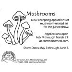 Call for Entries: Mushrooms