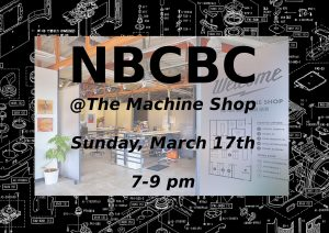 NBCBC at The Machine Shop