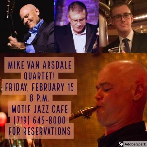 Mike Van Arsdale Quartet