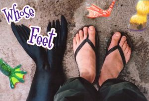 2's & 3's Outdoors: What Neat Feet!
