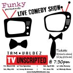 TVunscripted: Live Comedy at Funky presented by Funky Little Theater Company at Funky Little Theater Company, Colorado Springs CO