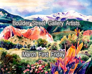 Cindy Welch, David Barber, & Rob Grishow presented by Cindy Welch, David Barber, & Rob Grishow at Boulder Street Gallery, Colorado Springs CO