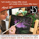 Art Night - Happy Little Landscape Paint Night
