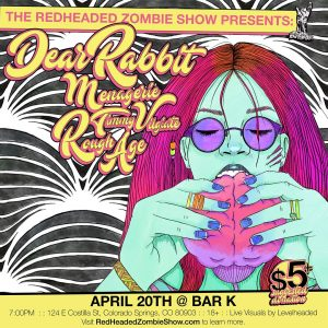 The Redheaded Zombie Show presents Dear Rabbit
