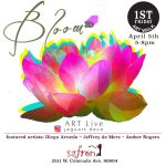 'Bloom' presented by Safron at ,