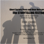 The Storytelling Festival presented by Lon Chaney Theatre at Lon Chaney Theatre, Colorado Springs CO