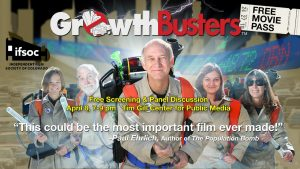GrowthBusters: Hooked on Growth – Pre-Earth Day Screening presented by Independent Film Society of Colorado at Tim Gill Center for Public Media, Colorado Springs CO