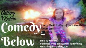 Comedy Below presented by Nights of Laughter at The Gallery Below, Colorado Springs CO