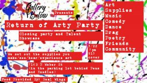 Arty Party and Closing Showcase