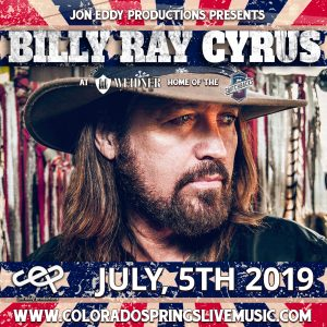 Billy Ray Cyrus with Independence Weekend Firework...