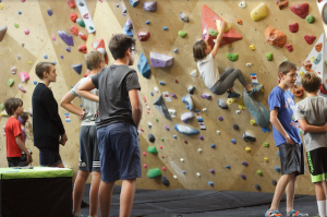 Summer Climbing Camp at Pure Bouldering Gym