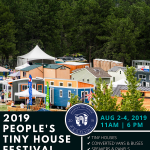 People's Tiny House Festival presented by WireWood Station at Pikes Peak International Raceway, Fountain CO
